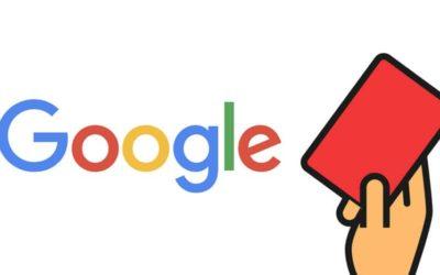 Qu'est-ce qu'une pénalité Google et comment y faire face ?
